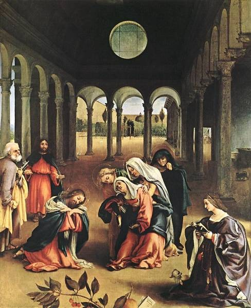 Christ Taking Leave of his Mother 1521